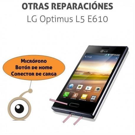 Reparación micro LG L5 E610