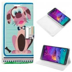 Funda Flip Cover Samsung Galaxy Note 4 (dibujos)