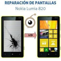 Reparación LCD Nokia Lumia 820