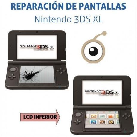 Reparación pantalla inferior 3DS XL
