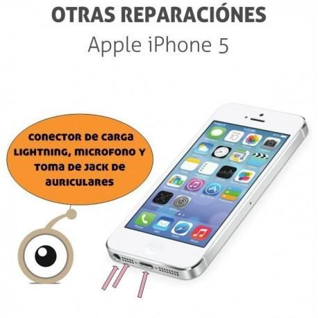 Reparación iPhone 5 Conector de carga lightning