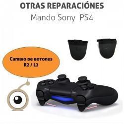 Cambio botones R2 / L2 mando PS4