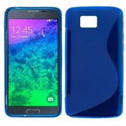 Funda Silicona Samsung G850 Galaxy Alpha (Colores)