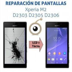 Cambio pantalla completa Sony Xperia M2 D2303 D2305 D2306