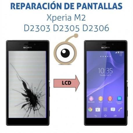 Cambio LCD Sony Xperia M2 D2303 D2305 D2306