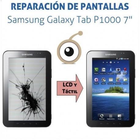 Reparación pantalla LCD Samgung TAB P1000