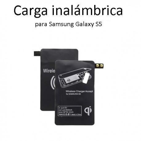 QI cargador inalámbrico Receptor para Samsung Galaxy S5