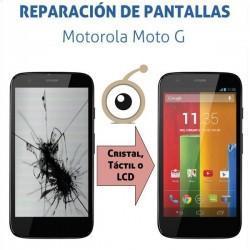 Cambio pantalla completa Motorola Moto G