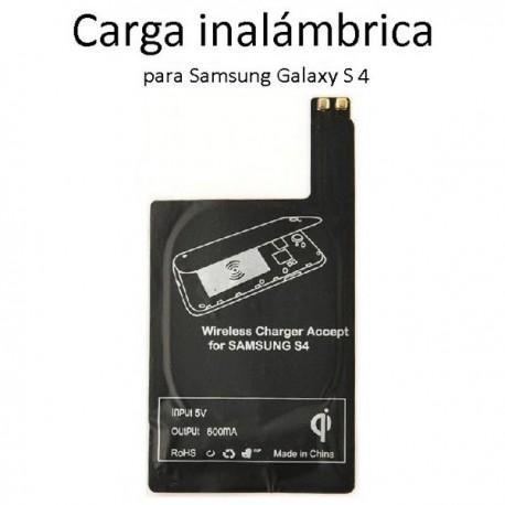 QI cargador inalámbrico Receptor para Samsung Galaxy S4