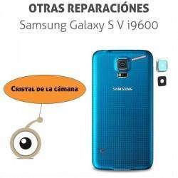 Cambio lente cámara Galaxy S5 i9600/G900F