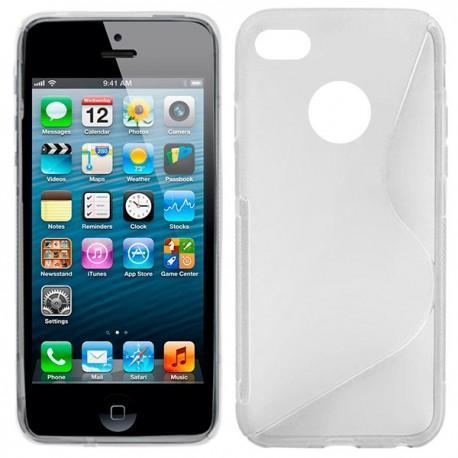 Funda Silicona iPhone 5 / 5s (colores)