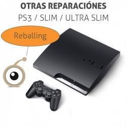 Reparación Play 3 Slim Luz...