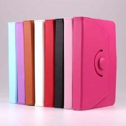 Funda Ebook / Tablet 7 pulgadas Piel Soporte (rojo)