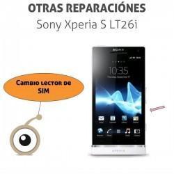 Reparación cambio lector SIM Sony Xperia S LT26i