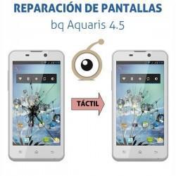 Cambio de cristal táctil bq Aquaris 4.5