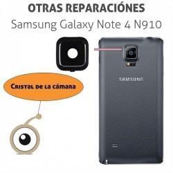 Cambio lente cámara Galaxy Note 4 N910