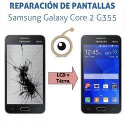 Cambio pantalla completa Galaxy Core 2 G355