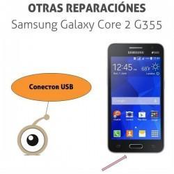 Cambio conector de carga USB Galaxy Core 2 G355