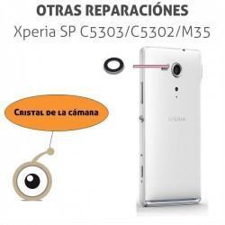 Cambio lente cámara Sony Xperia SP C5303-C5302-M35 cristal de la camara