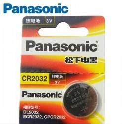 Pila Botón 3V CR2032 Panasonic de ión de litio