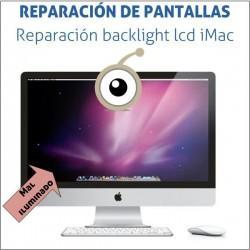 "Reparacion backlight lcd imac 27"""
