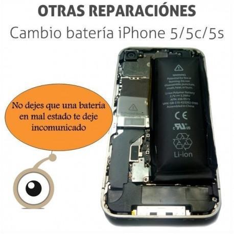 Cambio batería iPhone 5/5S/5C