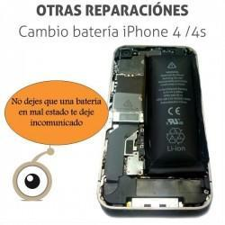 Cambio batería iPhone 4 / 4s