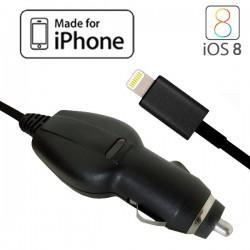Cargador Coche iPhone 5 / 5s / 6 / 6 Plus (Homologado Apple MFi)