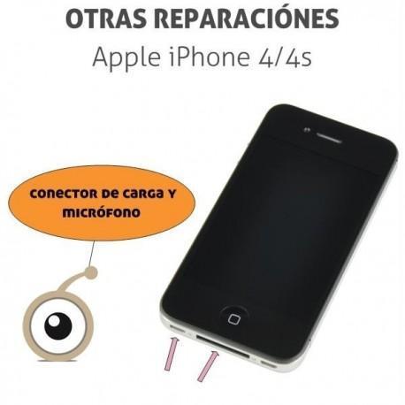 Reparación iPhone 4/4S Conector de carga