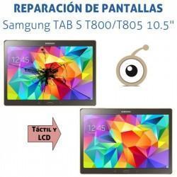 """Reparación pantalla táctil Samgung TAB S T800 / T805 10.5"""""""
