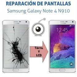 Cambio pantalla Galaxy Note 4 N910