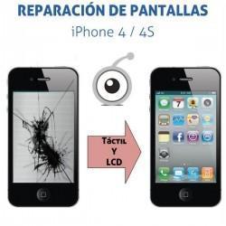 Reparación Pantalla iPhone 4/4S
