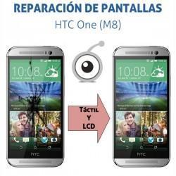 Reparación pantalla HTC One M8 831C