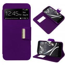 Funda Flip Cover BQ Aquaris X5 (violeta)