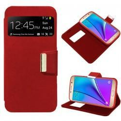 Funda Flip Cover Samsung Galaxy Note 5 (rojo)