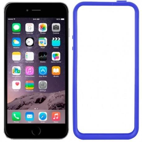 Carcasa iPhone 6 Bumper (azul)