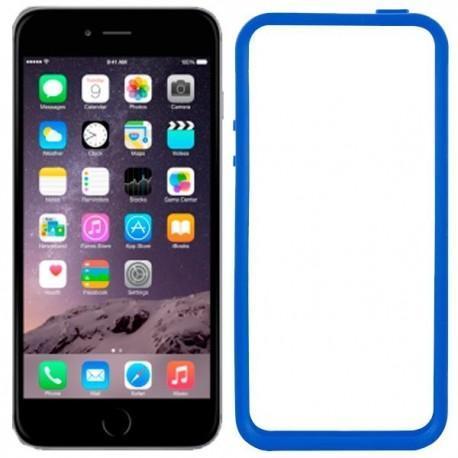 Carcasa iPhone 6 Plus Bumper (azul)