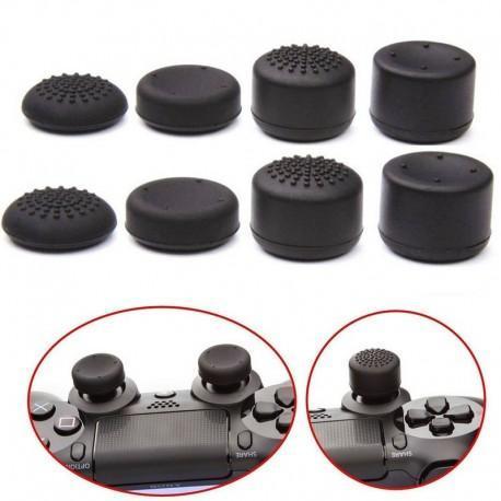 Juego de botones de silicona antideslizante para mando PS4 y XBOX ONE (8 PCS)