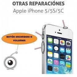 Reparación iPhone 5/5S/5C botón encendido o volumen