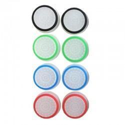 Juego de botones de silicona antideslizante para mando PS4 y XBOX ONE (colores fondo transparente)
