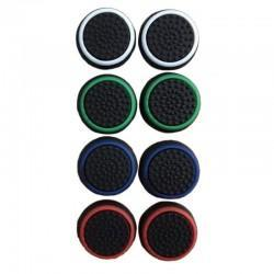 Juego de botones de silicona antideslizante para mando PS4 y XBOX ONE (colores fondo negro)