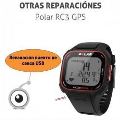 Reparación puerto de carga Polar RC3 GPS