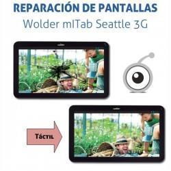 Cambio pantalla táctil Tablet Wolder mITab Seattle 3G