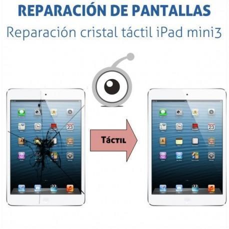 Reparación cristal táctil iPad mini 3