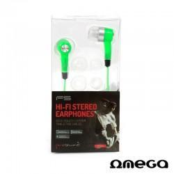Auriculares Stereo Jack 3,5mm Omega Freestyle (colores)