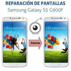 Reparación cristal Samsung Galaxy S5 G900F
