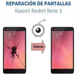 Reparación cristal táctil Xiaomi Redmi Note 2