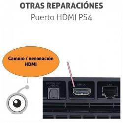 Cambio / reparacion HDMI PS4