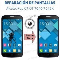 Cambio pantalla táctil Alcatel Pop C7 OT 7040 7041X
