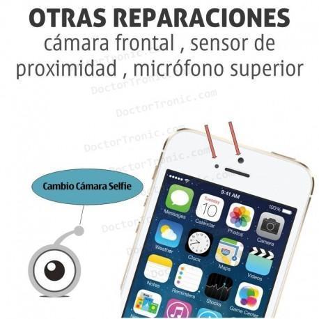 Reparación iPhone 5/5S/5C cámara frontal / sensor de proximidad / microfono superior